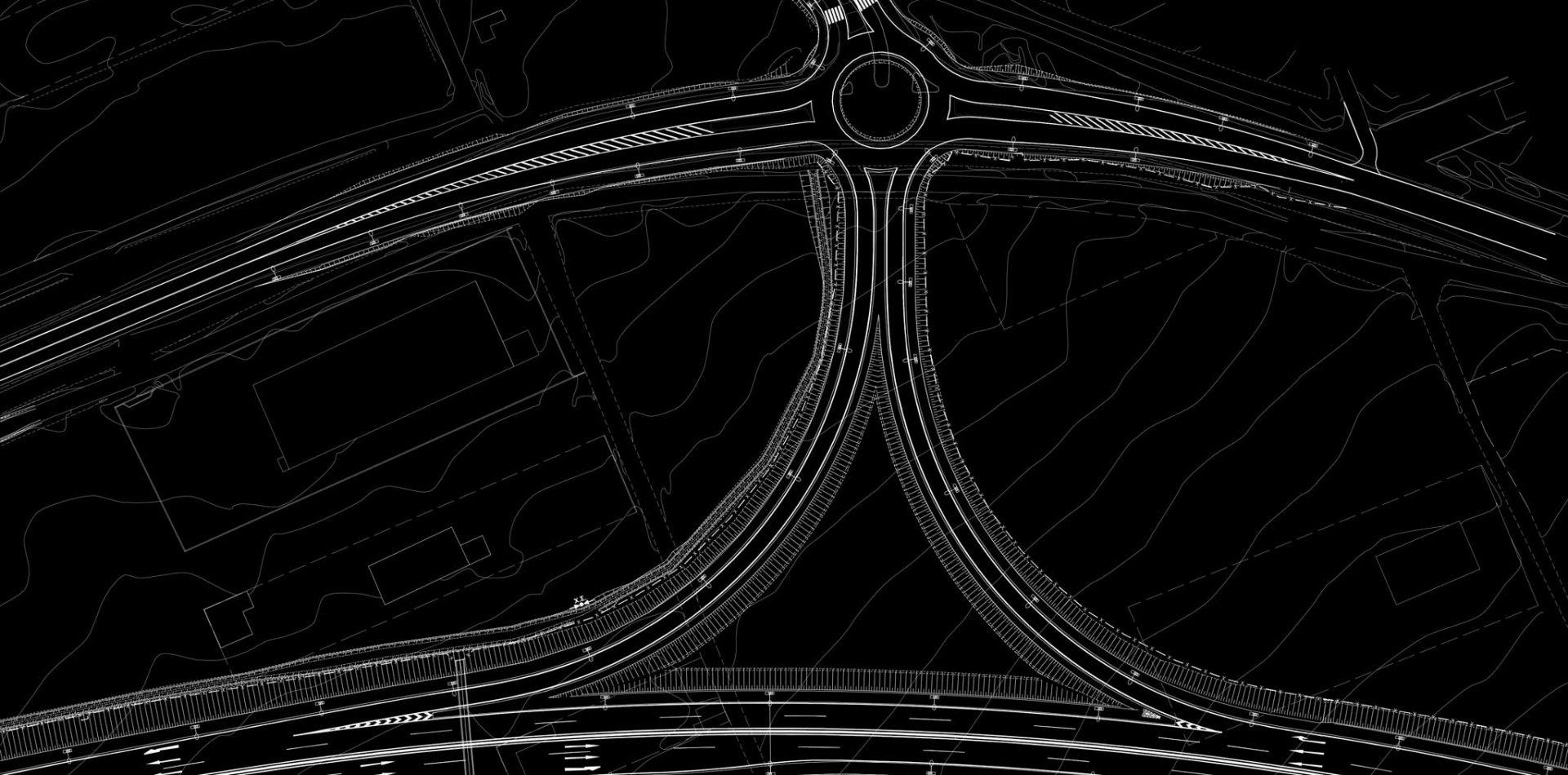 Motorway Vertical Axis